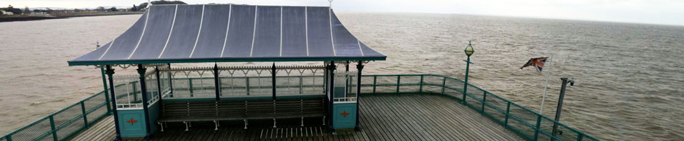 Clevedon sea front